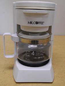 Vintage MR. COFFEE 4 Cup Mini Coffee Maker Model # BL5
