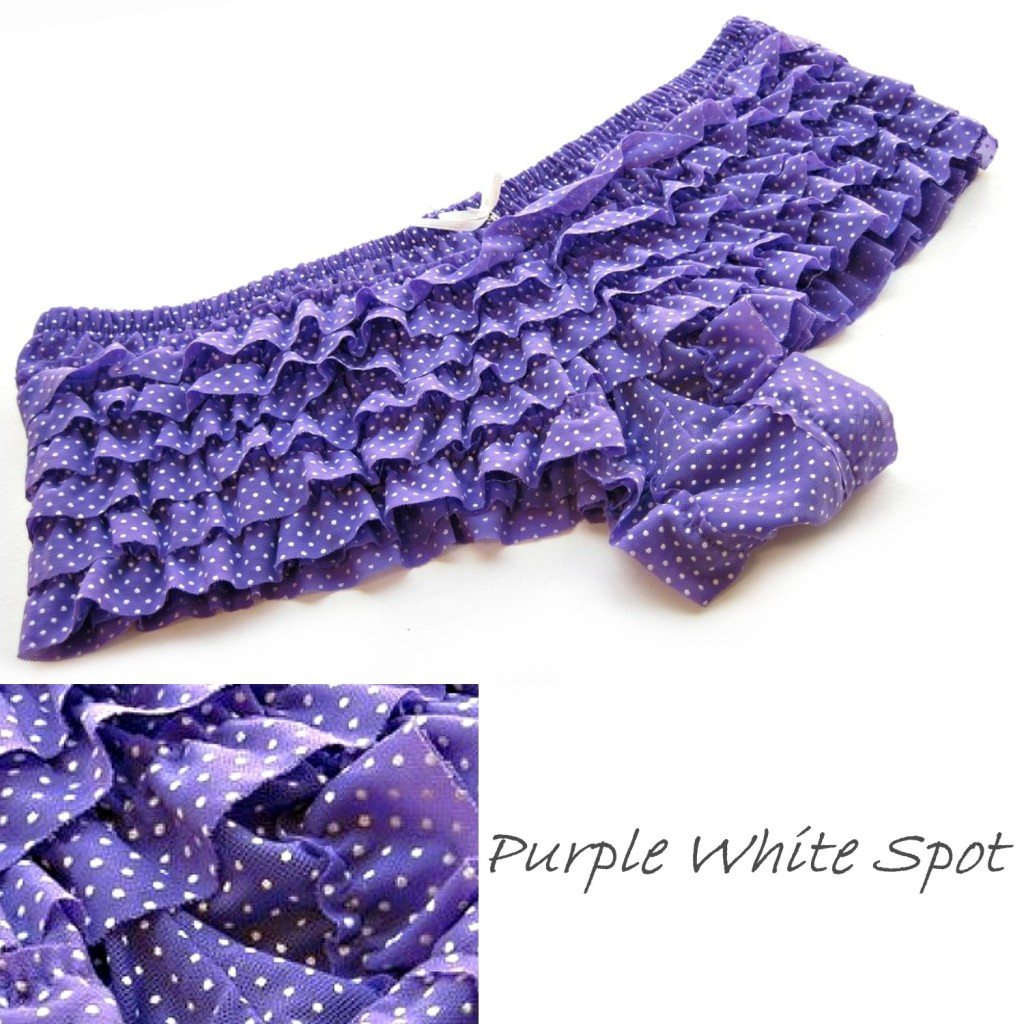 Purple/White Spot