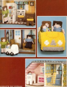 doll house plastic canvas on Etsy, a global handmade and vintage