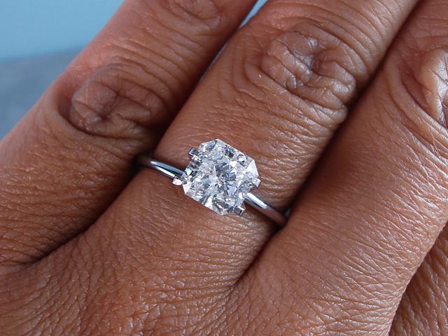 Radiant Cut Engagement Rings  Brilliant Earth