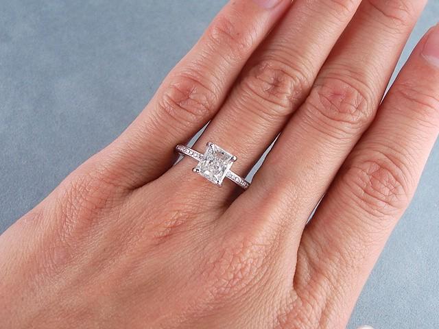 Shop Radiant Cut 11 Carat Diamonds  Ritani
