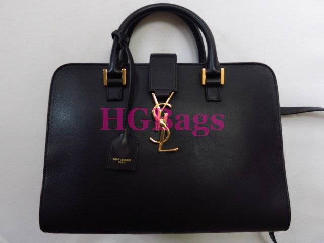 2014 Auth YSL Black Small Monogramme Cabas Bag | eBay
