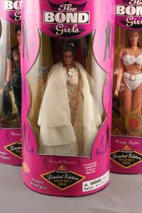 Lot 6 James Bond Girls Le Series Action Figure Dolls