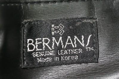 Designer Purse on Designer Purse Bermans Brown Leather Designer Shoulder Purse   Ebay