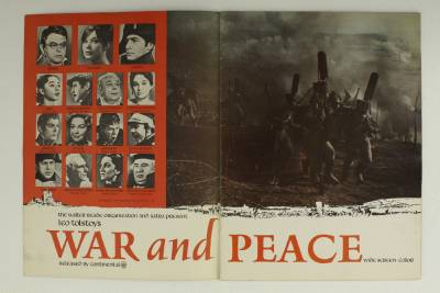 essay on war and peace by leo tolstoy War and peace study guide contains a biography of leo tolstoy, literature essays, a complete e-text, quiz questions, major themes, characters, and a full summary and.