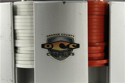Poker chips orange county