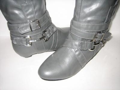 Women Fashion Cowboy Boots on New Fashion Cowboy Casual Mid Calf Flats Boots Women Sz   Ebay