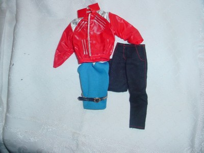 Michael Jackson Doll Beat It Outfit