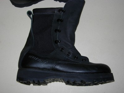 Military Fashion Boots   on 700 Gore Tex Military Combat Black Leather Boots Men Sz 6 5  7   Ebay