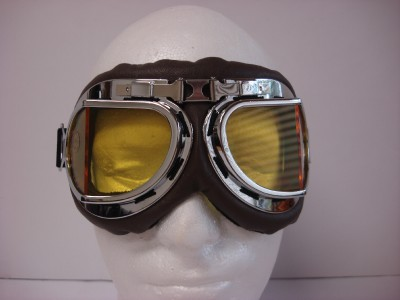 Ww2 Aviator Goggles Padded pilot style classic