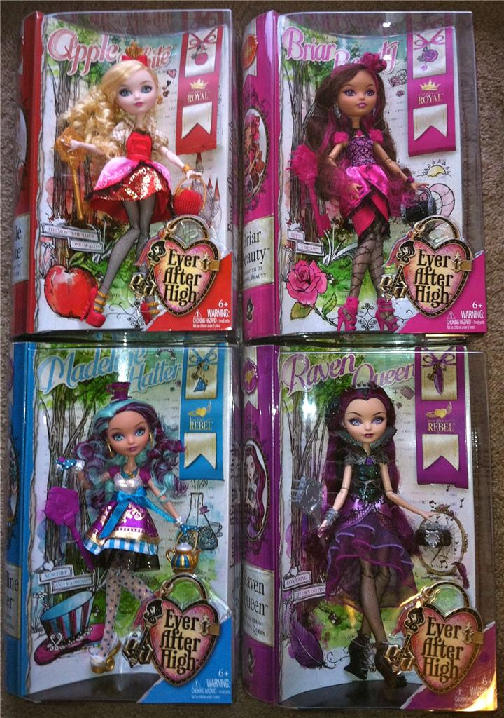 New ever after high dolls 4 apple white briar beauty - Camas monster high ...