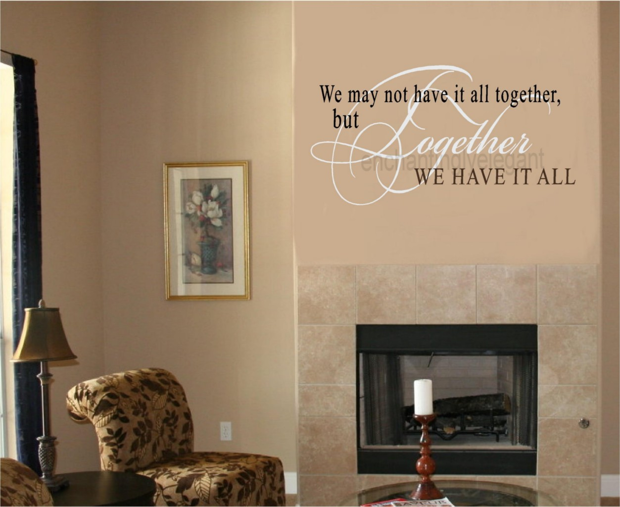 We May not Have It All Together Vinyl Wall Decal Sticker Quote
