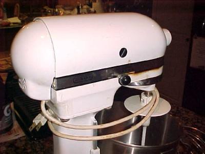 details about kitchenaid mixer hobart model k5ss 10 speeds 300 watts w