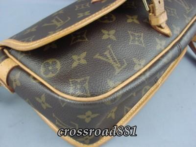 ... Authentic Louis Vuitton Monogram Sologne Messenger Bag Great Condition