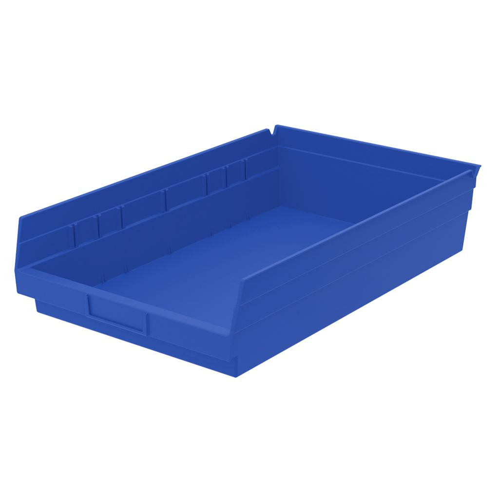 30178 shelf bins 18 inches long parts storage akro mil akro mils 12 per case nib ebay. Black Bedroom Furniture Sets. Home Design Ideas