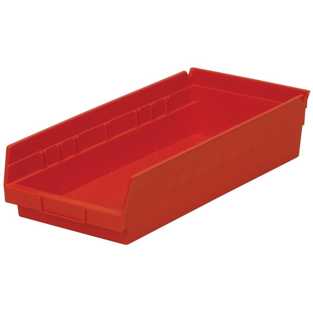 30158 shelf bins 18 inches long parts storage akro mil akro mils 12 per case nib ebay. Black Bedroom Furniture Sets. Home Design Ideas