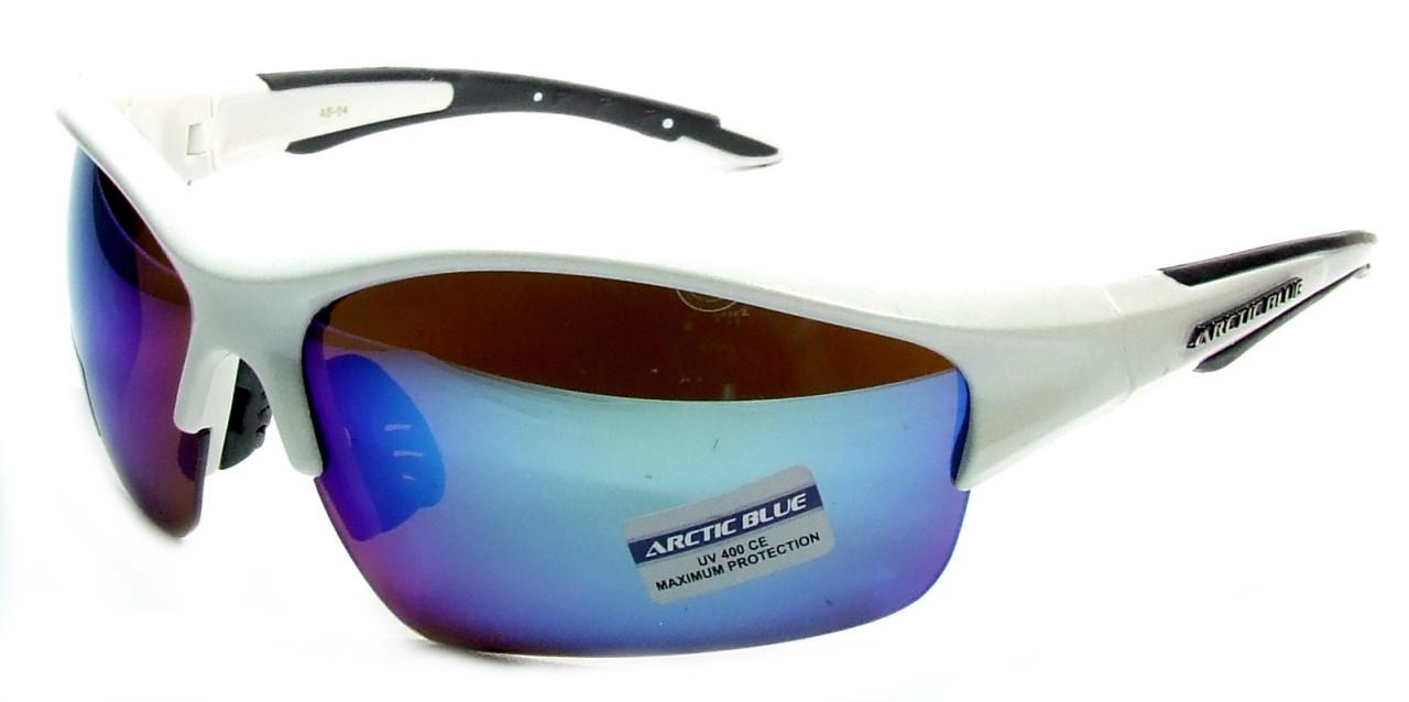 Occhiali da sole artic blue lenti a specchio avvolgenti per uomo e donna ebay - Occhiali per truccarsi allo specchio ...
