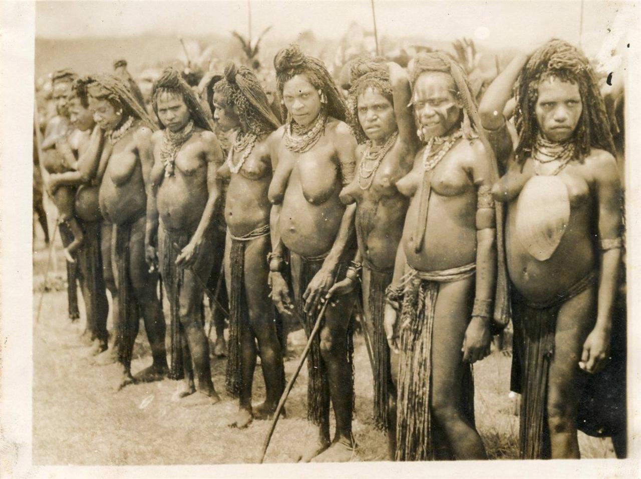 south pacific island natives nude