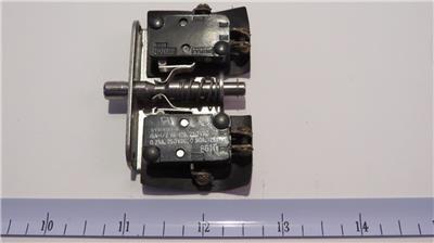 Unimax 23tl6 4 Micro Limit 15 Amp Door Interlock Safety