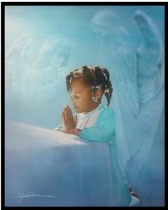 magnet african american black girl praying angel ebay