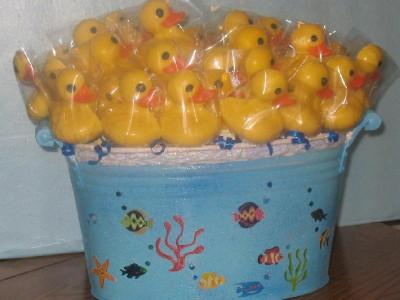 50 DUCKY DUCKIE LOLLIPOPS BABY SHOWER BIRTHDAY FAVORS