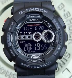 g shock gd 100 1b manual
