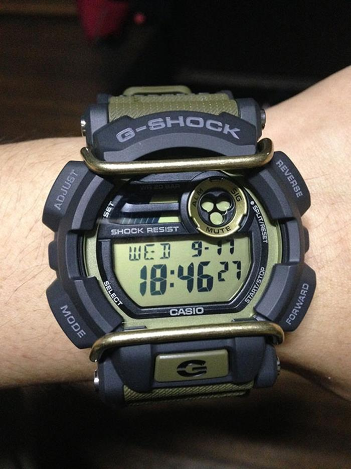 Casio Gshock Action Sports Protector Super Illuminator