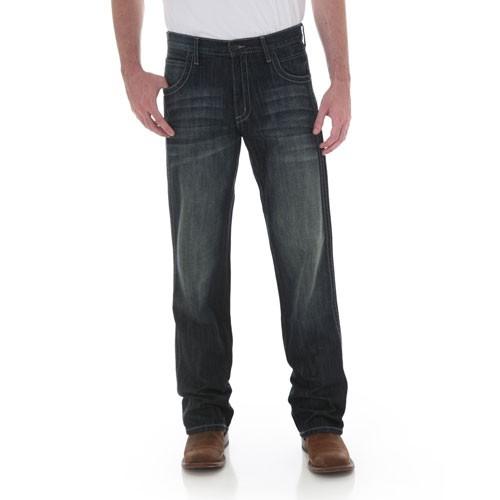 WLT20DL Wrangler Men's Retro Boot Cut Jeans Dark Lager New ...
