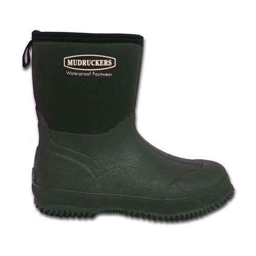 new with box 555 mudruckers 9 quot mid boots green