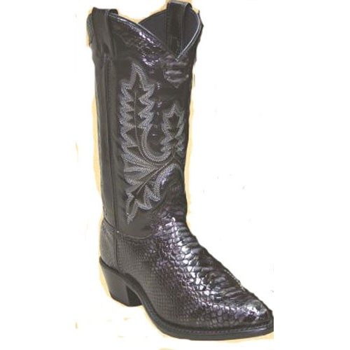 new in box 9031 abilene western snakeskin print
