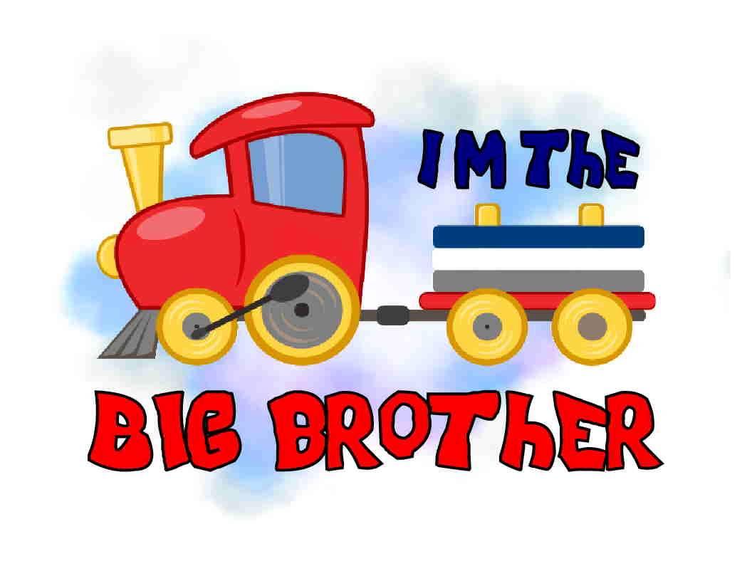 Big Boy Train Toys : Custom made t shirt i m the big brother toy train cute boy