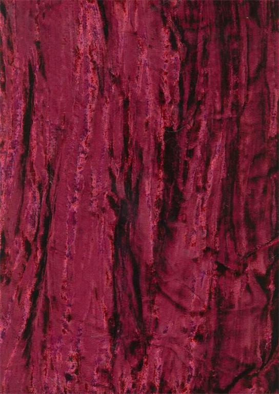 100 Crushed Velvet Fabric 54 Quot Burgundy Wine