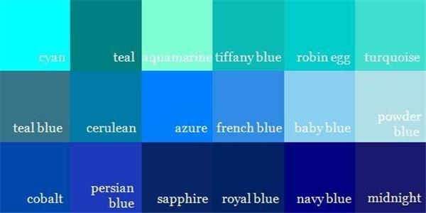 Next color thesaurus
