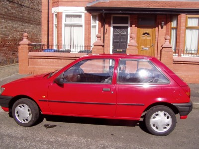 1997 red ford fiesta azura excellent bodywork ebay. Black Bedroom Furniture Sets. Home Design Ideas