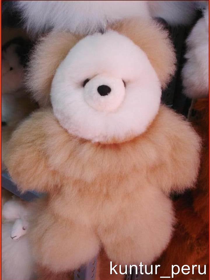 WHOLESALE-LOT-100-PERUVIAN-TEDDY-BEARS-100-BABY-ALPACA-FUR-8-034-INCHES-PERU-ART