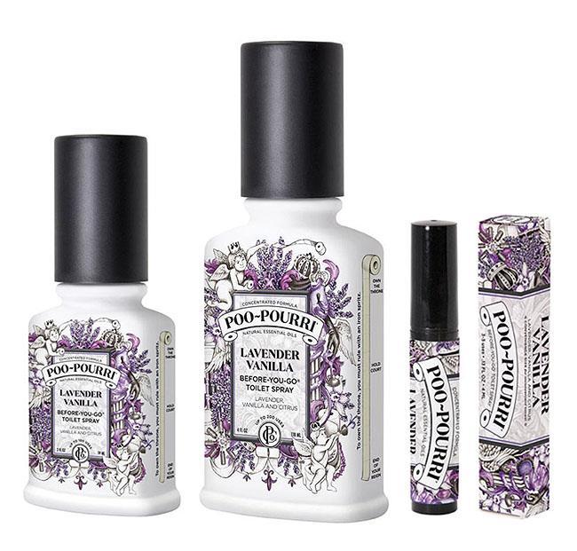 Poo Pourri Lavender Vanilla Toilet Bathroom Spray Essential Oil Odor Neutralizer