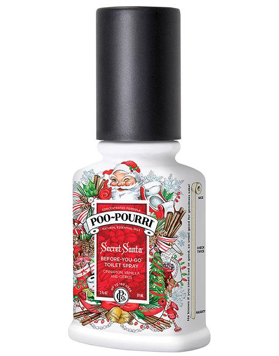 Poo Pourri Secret Santa Toilet Bathroom Spray Essential Oil Odor Neutralizer Ebay