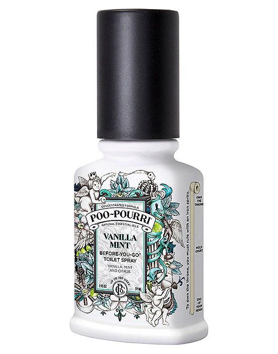 Poo Pourri Vanilla Mint 2oz Toilet Bathroom Spray Essential Oil Odor Neutralizer Ebay