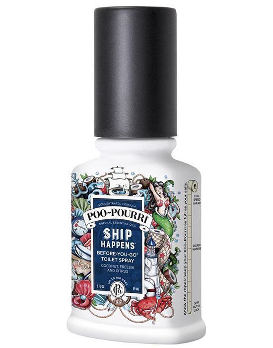 Poo pourri ship happens toilet bathroom spray essential - Poo pourri before you go bathroom spray ...