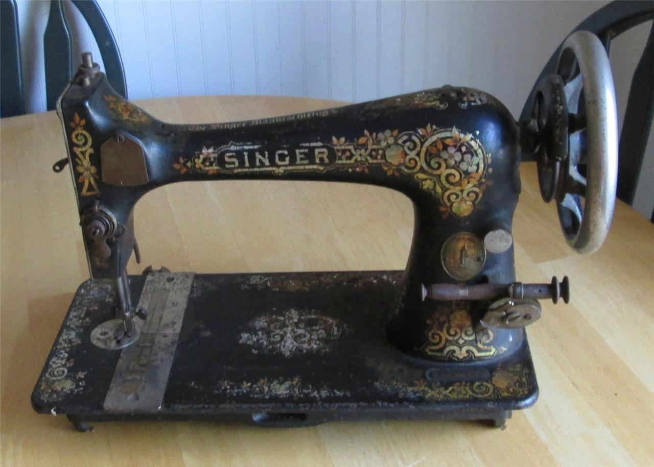 the singer manufacturing co sewing machine ebay