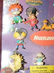 Dog Cat Nickelodeon Figurines