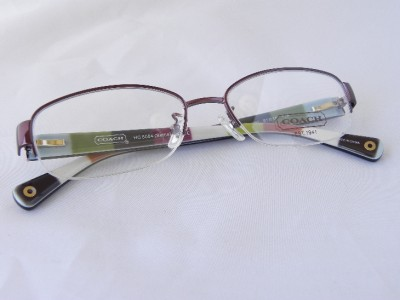 Coach Eyeglass Frames Bettie : COACH EYEGLASSES SEMI-RIMLESS HC 5004 BETTIE col. PURPLE ...