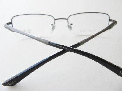 semi rimless glasses  semi-rimless