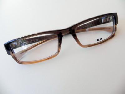 OAKLEY SERVO EYEGLASSES OX1066-0653 BROWN NEW AUTHENTIC Rx ...