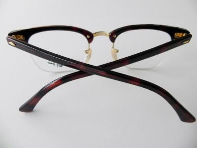 Ray Ban Optical Half Frame Glasses 5201 : RAY BAN RB 5201 EYEGLASSES TORTOISE RB5201 C.2372 SEMI ...