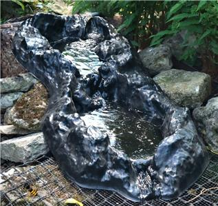 Pond Waterfall Garden Water Feature Stream Rock Pool Water