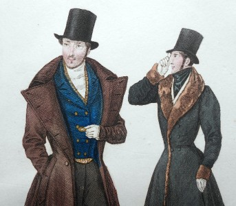 c1834 la mode late georgian romantic era fashion gavarni