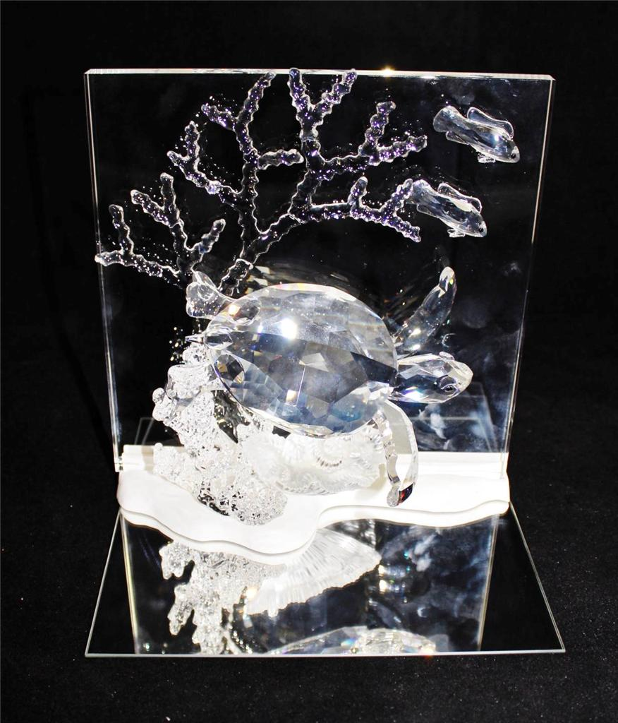 Swarovski crystal eternity clear wonders of the sea turtle - Swarovski weihnachtsstern 2006 ...