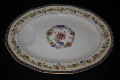 theodore haviland limoges chateaudun oval serving platter. Black Bedroom Furniture Sets. Home Design Ideas