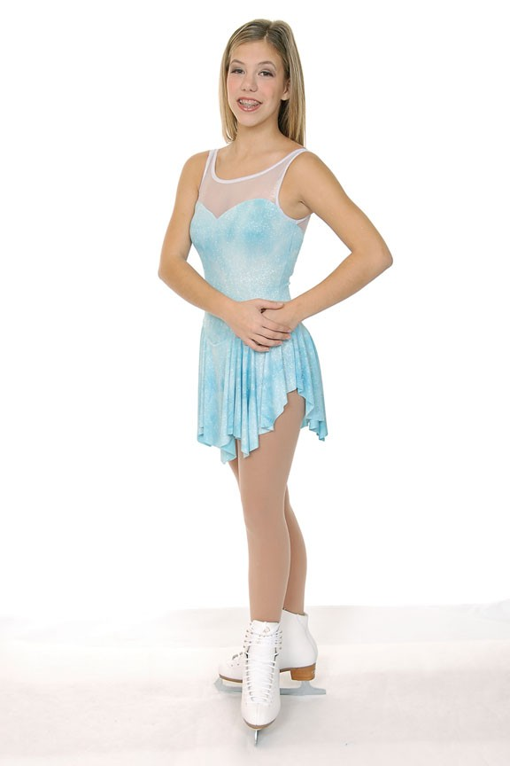 New-Twizzle-Innocence-Glitter-Pastel-Blue-Figure-Skating-Dress-C-12-14